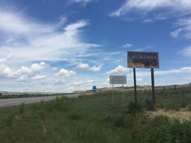 アイダホ州 ー アイダホ州からモンタナ州へ