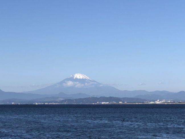 江ノ島、鎌倉、富士山を追いながらドライブとお詣り。