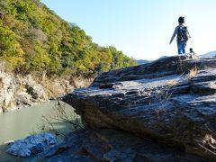 秋の日帰り長瀞♪ ~石好きボーイズと岩畳散策&博物館&ちょこっと紅葉~