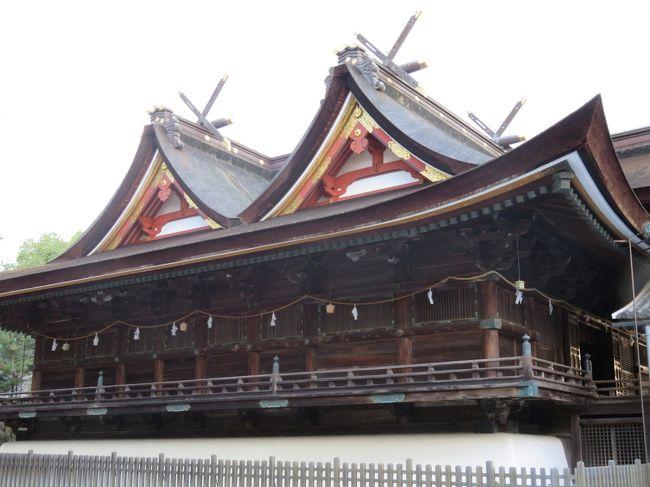 先月、津山市に行ったのがきっかけで岡山熱?が燃え盛りまして、今月も岡山に行ってきました。<br /><br /><br />連休初日の11時頃に自宅を出発して、岡山駅に着いたのが15時過ぎ。大阪駅から新大阪に行くのを乗り換え間違えてしまうという初歩的ミスをやらかしましたが、新神戸で新幹線に乗り換えて当初の予定と大差ない時間に着くことが出来ました。<br /><br />岡山駅で桃太郎線に乗り換えて数駅で吉備津神社の最寄りの吉備津駅に到着です。