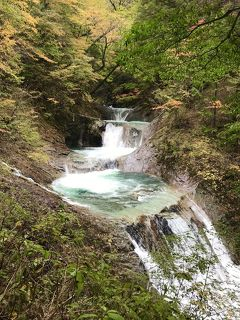 2019年10月 西沢渓谷トレッキングとほったらかし温泉