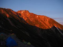 夏休みは五竜岳から唐松岳へ