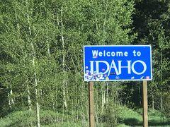 アイダホ州 ー 北から南にアイダホ州をドライブ縦断
