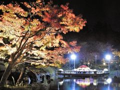 しあわせの村日本庭園の紅葉