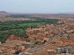 今日は何色?初ムスリムの国モロッコへ・・・おそるおそる駆け抜けた6日間!⑪ ☆フェズ~トドラ峡谷の車窓風景☆オアシスってこんなに美しい!☆