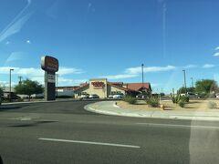 アリゾナ州 ユマ ー 町をドライブの景色
