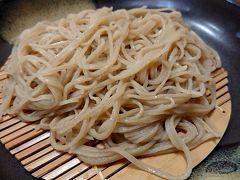 長野県飯田市で昼食 蕎麦屋さん