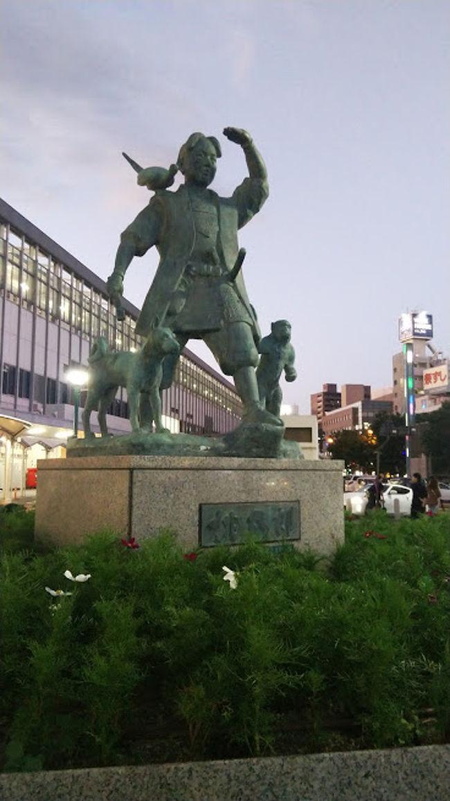 新規の取引先を巡る出張ということで、佐賀と香川の工場を訪問しました。<br />初日に佐賀に行き、岡山で宿泊して、次の日に香川に行きました。<br />佐賀も岡山も香川も人生初の訪問です。<br />特に四国には初めて足を踏み入れました。<br /><br />以下スケジュールです。↓<br />2019/09/17 飛行機利用→羽田~福岡(ANA利用)、福岡から佐賀まで電車移動。仕事の後に岡山に移動し宿泊。<br />2019/09/18 岡山から香川に電車で移動。仕事の後に、飛行機利用→高松~羽田(ANA利用)