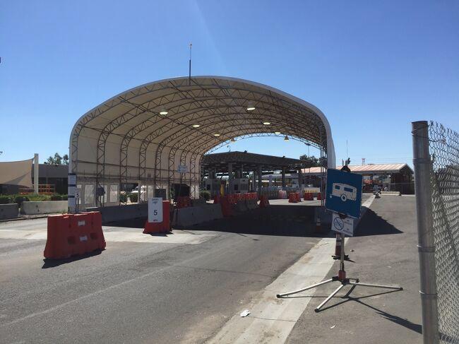 アリゾナ州 サンルイス ー メキシコ国境