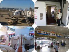 ホテルライフを楽しむ沖縄(1)JALファーストクラスで羽田から那覇へ