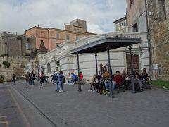 Tarquinia から Civitavecchia までバスで帰る。帰りは直通です。船の近くで下りました。
