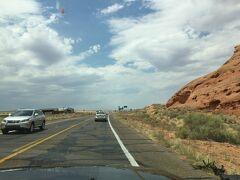 アリゾナ州 カイビート - 98号線でページまで走る