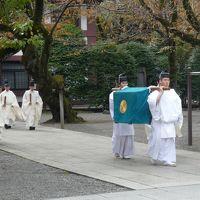 大嘗祭当日祭(in 靖国神社)