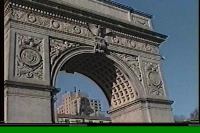 1991年 初ニューヨークはパートナーと 2/2