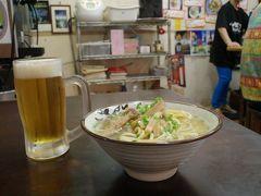 沖縄旅行 1-2 ゴーヤジュースおばさんオススメの八重山そば