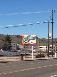 アリゾナ州 キングマン ー ルート66をドライブ