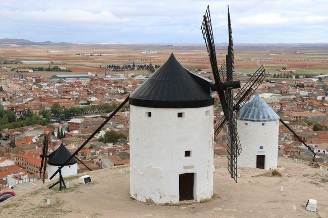 2019 レンタカーで巡る秋のスペイン【2】 ~コンスエグラで風車見学~
