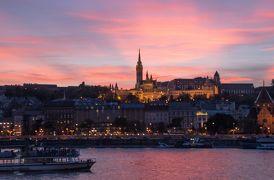 2019.10  秋日和のブダペスト ウィーンとブラチスラバを添えて... 6.夕日に染まるマーチャーシュとイシュトヴァーンコンサート