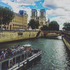フランス パリ観光とオペラ座でバレエ鑑賞