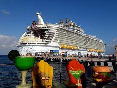 メキシコのコスメル島には、クルーズ船の国際港が3か所あります。