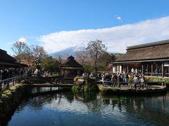 ホテルステイ 2019 11月@いやし処ほてる寛楽 富士山御殿場&忍野八海でほんの少しの紅葉を♪
