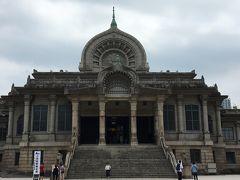 東京:築地本願寺で朝がゆ~築地場外市場で卵焼き~横浜:キリンシティ