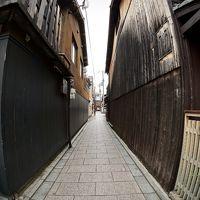 あの頃 全く見ていなかった「京の都」をもう一度「大人になってからの修学旅行リベンジ」の、なな(朝の祇園「花街」の景色/京都)