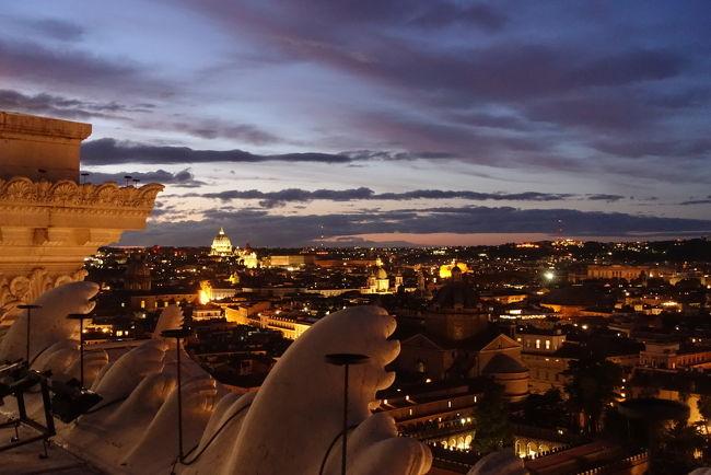 去年の週めくりカレンダーの自分の誕生日の格言が「ローマは1日にしてならず」だったので、今年はローマに行きたい!!ということで、行ってきました!<br />11月14日<br />JAL 成田11:30→ヘルシンキ15:00<br />フィンエアー ヘルシンキ16:25→ローマ18:50<br />ホテル ベットーヤアトランティコ 4泊<br />11月18日<br />フィンエアー ローマ11:05→ヘルシンキ15:35<br />JAL ヘルシンキ17:35→成田10:05<br /><br />航空券はJALサイトより<br />ホテルはagodaより <br /><br />30分前に入場バチカンツアー みゅうツアー<br />サン・ピエトロ寺院<br />サンタンジェロ城<br />サンタ・マリア・デッラ・パーチェ教会<br />ナボーナ広場<br />サンタ・マリア・デッラ・ビットリア教会<br />サンタ・ルイ・デイ・フラーチェ教会<br />ナボーナ広場<br />サンタンジェロ城<br />サン・ピエトロ寺院