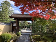 朝観光(20ー3) 京都の紅葉(紫野大徳寺 2)