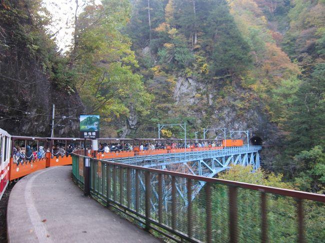 紅葉の「黒部峡谷トロッコ列車」がメインの、新潟から富山へ2泊3日ドライブ旅行です。<br /><br />1日目・・・新潟県の苗場でドラゴンドラに乗車、紅葉を満喫。その後、春日山城跡にも寄り道してから富山県へ。<br /><br />2日目・・・トロッコ列車で黒部峡谷を満喫します。