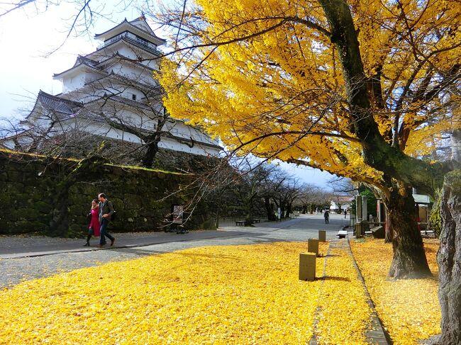 会津若松と東山温泉に一人旅してきました。やっぱり会津は寒い! でも温泉には良い季節。紅葉の盛りは過ぎていましたが、晩秋の落ち着いた雰囲気も好きです。<br /><br />1日目:高速バスで新宿から会津若松へ。東山温泉宿泊。<br />2日目:会津若松市内を観光。
