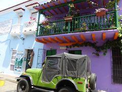 町中がとびきりボニータ la ciudad amurallada城壁に守られた旧市街 カルタヘナ・デ・インディアス