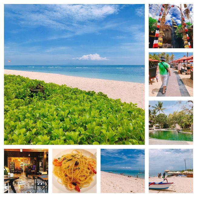 夏のリベンジ旅行を12月中旬に終えて、すぐ年末年始のバリ島に出かけてみました。<br />今回はいつものサヌールを抜け出し、初ヌサドゥア滞在も。<br />カルチャーショックを味わった8回目のバリ島旅行となりました。<br /><br />□■□■□■□■□■□■□■□■□■□■□■<br />12月28日 羽田→(経由)→バリ島 サヌール泊<br />12月29日 サヌール泊 <br />12月30日 サヌール泊<br />12月31日 ヌサドゥア泊<br />1月1日  ヌサドゥア泊<br />1月2日  ヌサドゥア泊 ←★ココ<br />1月3日  ジャカルタ泊<br />1月4日  帰国<br />□■□■□■□■□■□■□■□■□■□■□■<br /><br />1月2日(6日目)<br />朝食 @ウェスティン<br />遊歩道~ゲゲルビーチ<br />夕食 @Aglio バリコレクション
