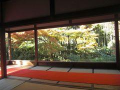 晴天の祝日に京都大原から無鄰菴へ紅葉巡り!