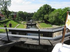 スウェーデン リンシェーピング Linkoping 船クルーズ Kinda Kanal