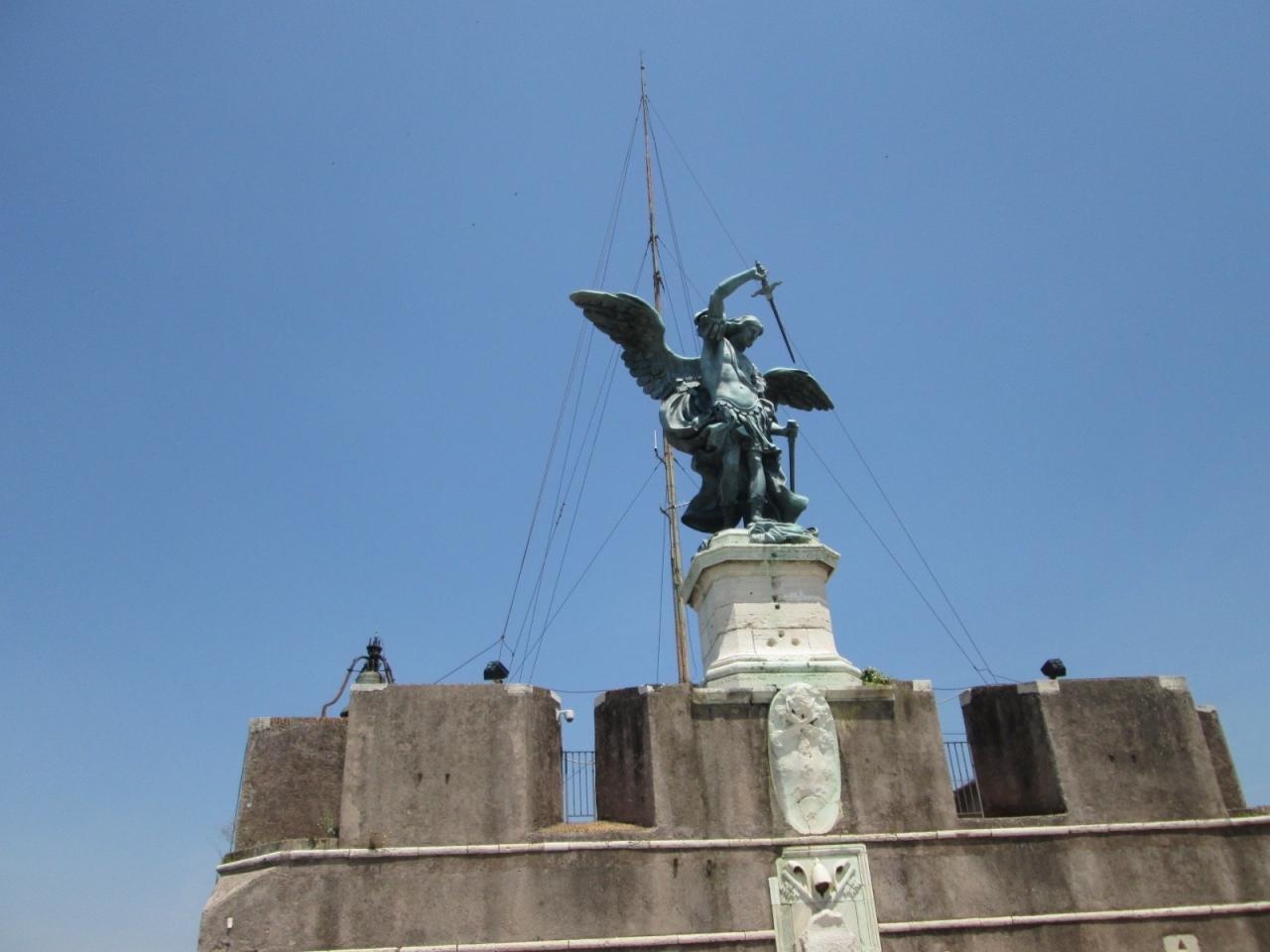 2013 Secondo viaggio a Roma #3 Castel Sant'Angelo サンタンジェロ城