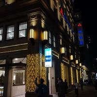 京橋から,東京スクエア・ガーデン,江戸グラン,そして東京駅八重洲口。