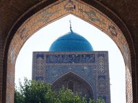 神秘的なブルーと素朴なサンドカラーが美しい東洋文化と西洋文化の交差路 in ウズベキスタン★2019 09 5日目【BHK】