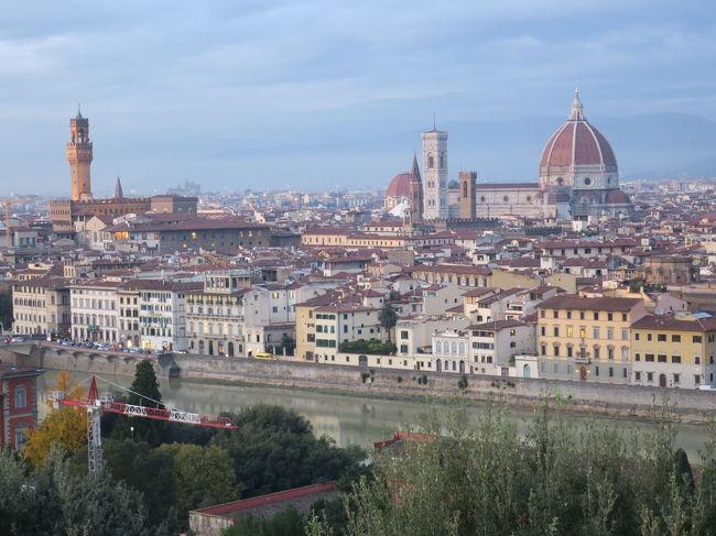 ドゥオモとジョットの鐘楼を連続で登ってみた、初フィレンツェ。