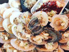 週末グルメツアーin釜山(うに!貝!肉!)