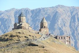 コーカサス3カ国8日間の旅(3)ムツタヘ、アナリア教会、ツミンダ・サメバ教会