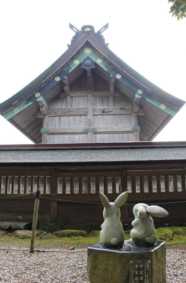 島根県北東部、日本海に面する市である出雲を訪れました。全国屈指のパワースポットとされる出雲大社で知られています。<br />★出雲市内の歴史ある温泉、神代の伝説が残る「湯の川温泉」に宿泊。<br />★出雲大社への参拝と、その門前町や稲佐浜を散策&出雲そばを食す。<br /><br />[いただいた郷土料理/ご当地グルメ]<br />◎出雲割子そば<br />◎出雲ぜんざい<br />