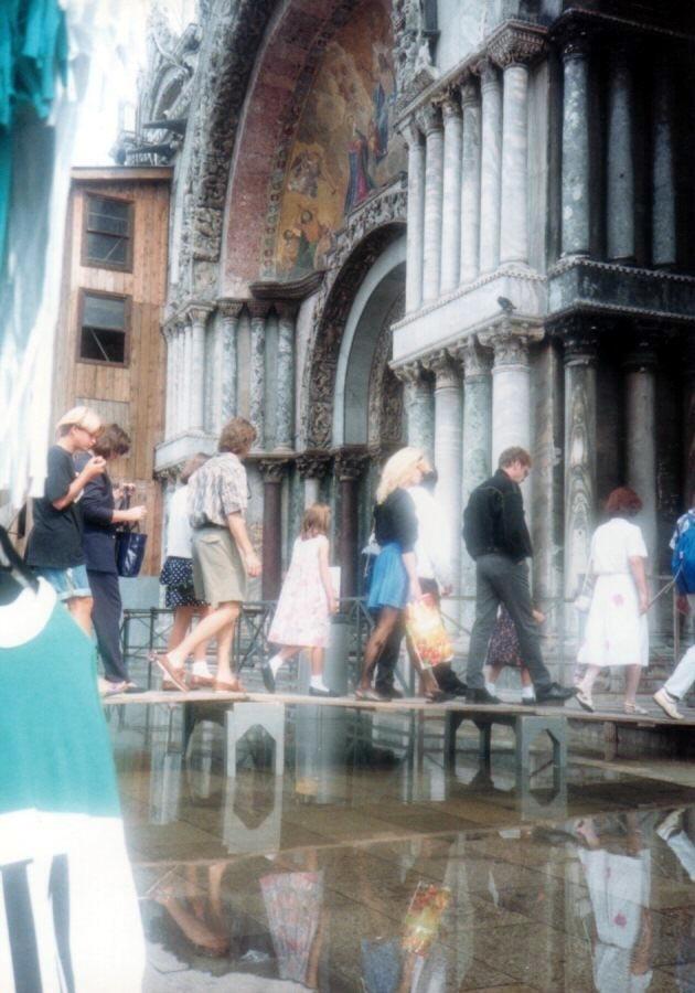 1990年 DST(地球の歩き方?)で 3週間の周遊 2/5 :3回目のヴェネツィア