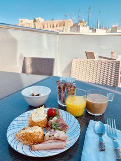 2019夏休み母子旅行 トルコ・ヨーロッパ周遊25日④(パルテノンで朝食を編)