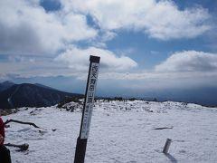 雪山入門第二弾は北八ヶ岳の天狗岳