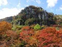 秋、紅葉の耶馬渓