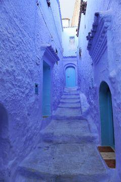 ムシャルフィン モロッコ  3.メルヘンチックな青き街 シャウエン