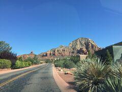 アリゾナ州 セドナ - 179号線をドライブ