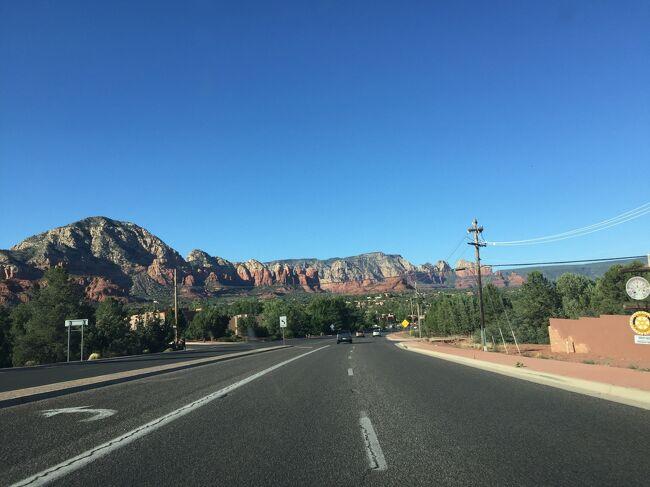 アリゾナ州 セドナ - 89Aをドライブ