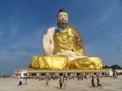 ミャンマー 「行った所・見た所」 チャイトーの3パゴダMountain参拝・散策